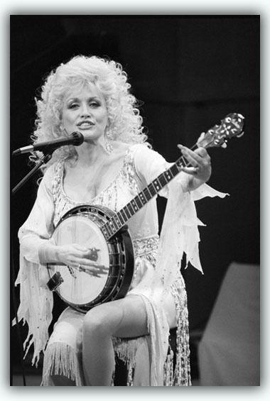 dolly parton banjo 1