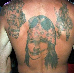 Terrible Music Tattoos Smack Madness