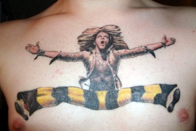 Awesome music tattoos smack madness for Tattoo van halen