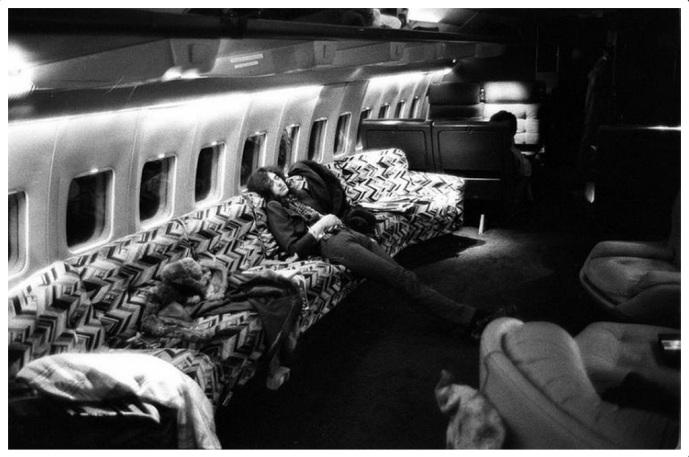 sleeping starship