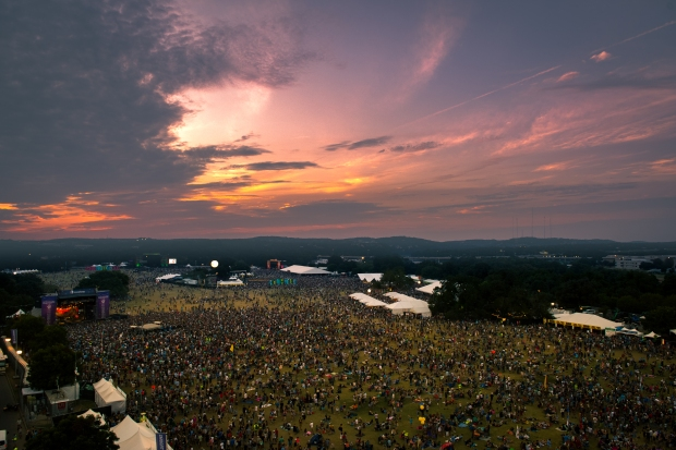 Aerial view of ACL 2015 by Charles Hackleman