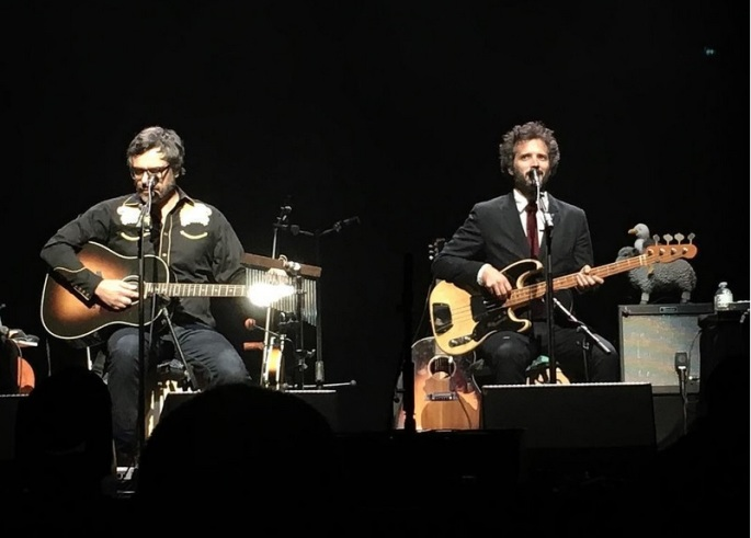 Flight of the Conchords at Bass Concert Hall (photo via @brunied)