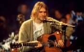 Kurt Cobain on MTV Unplugged, 1993.