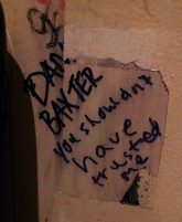 Emo's, home of the truest bathroom graffiti.